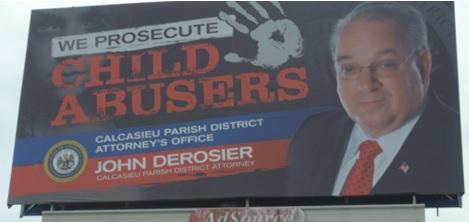 Campaign ad or DA office billboard 10