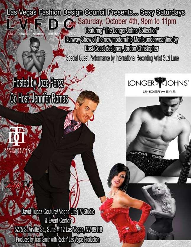 The Las Vegas Fashion Design Council presents... Sexy Saturdays