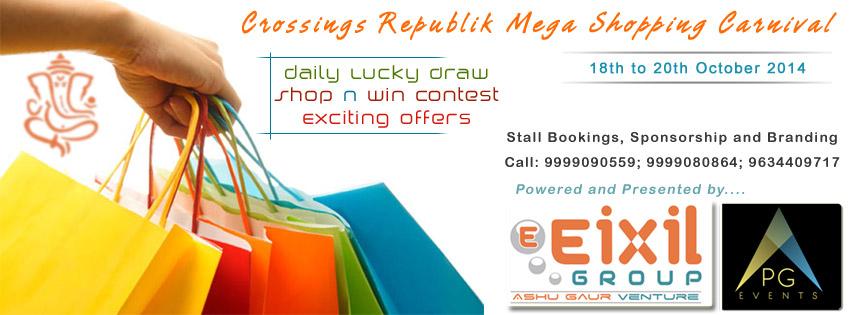 Crossing Republik Mega Shopping Carnival