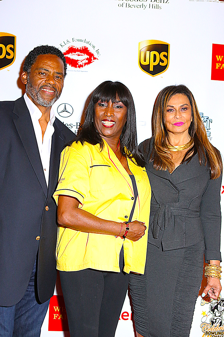 Richard Lawson, KiKi Shepard, Tina Knowles