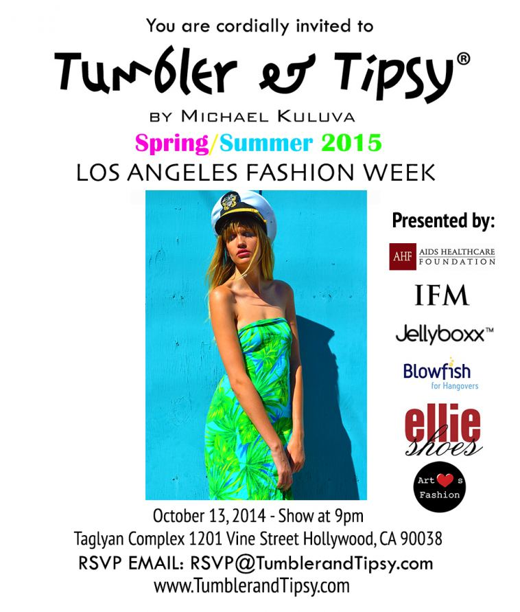 Tumbler And Tipsy By Michael Kuluva Presenting S S 2015 Collection At Los Angeles Fashion Week