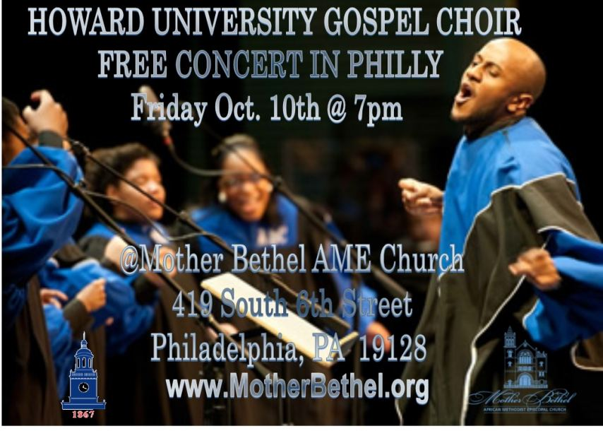 Howard Concert Kicks Off Self-Determination Month At Historic Philly Church