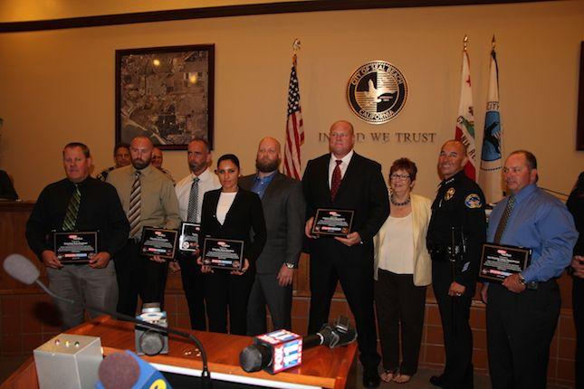 Police Agencies Honored