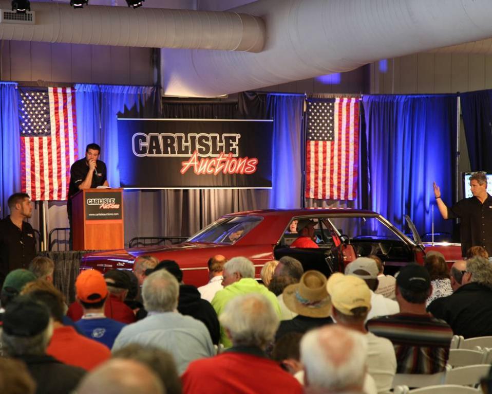 2014 Fall Carlisle Collector Car Auction A Resounding