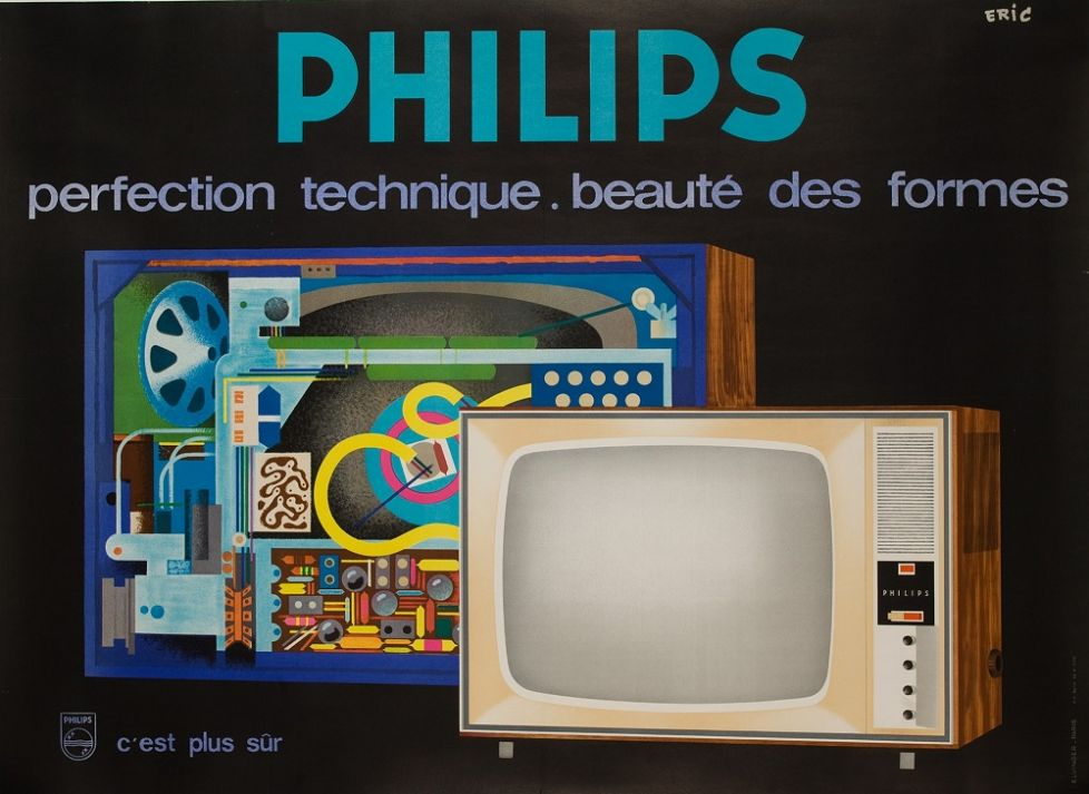 Philips Perfection at the International Vintage Poster Fair
