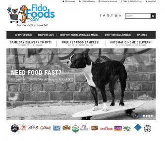 FidoFoods.com Homepage