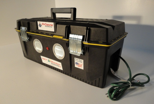 High Output Ozone Generator Kills Ebola Virus, Germs, and Toxic Mold