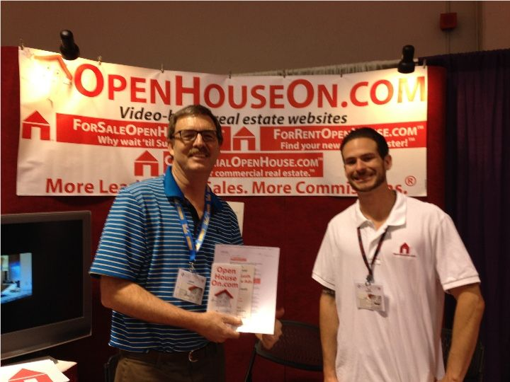 John and Chris at 2014 California REALTOR Expo