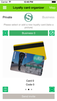 Loyalty cards saved on your smartphone