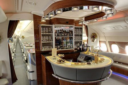 Airbus A380 Interior Design