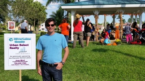 Jose Miori  from Urban Select Realty Sponsors Pumpkin Patch Event