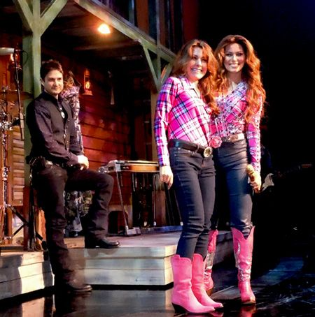 """Today is Her Day"" as Simply Shania joins Shania Twain on stage in Las Vegas"
