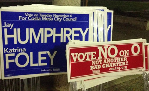 Elect Candidates Katrina Foley and Jay Humphrey to Costa Mesa City Council