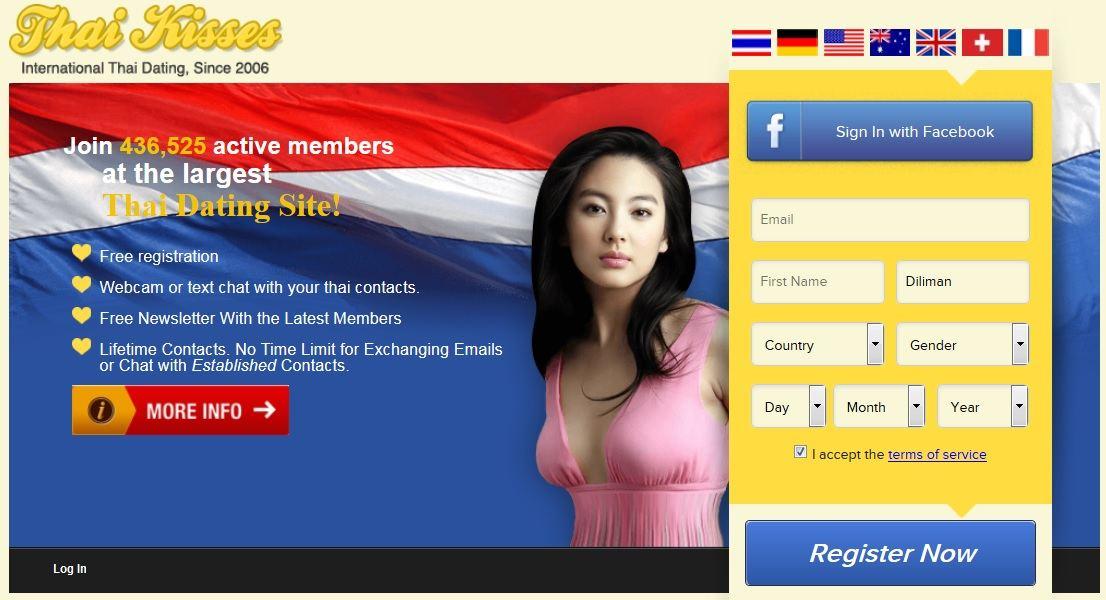 dating international kiss thai