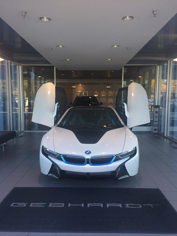2014 BMW i8 Delivery by Gebhardt BMW