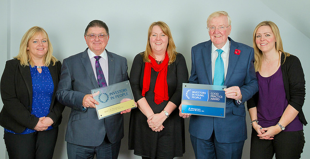 JB Management receives awards from Chic Brodie MSP
