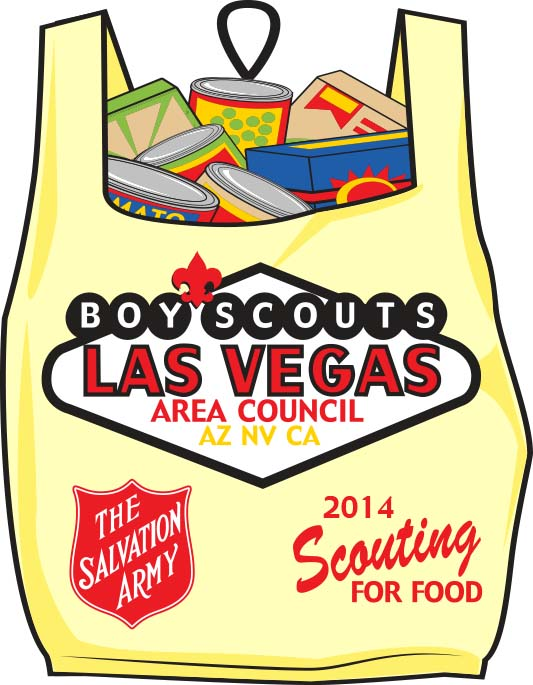 Las Vegas Area Council, Boy Scouts of America, 26th Scouting for Food, Nov 15th