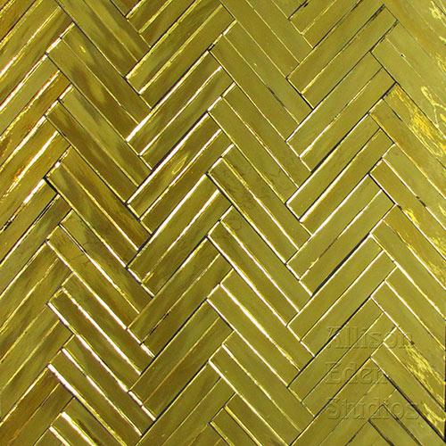 Allison Eden Studios Gold Double Herringbone
