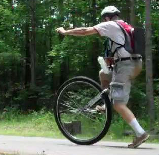 Unicycling the Silver Comet Trail