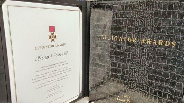 2014 Litigator Awards - Bisnar Chase