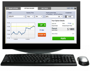What is trade binary options
