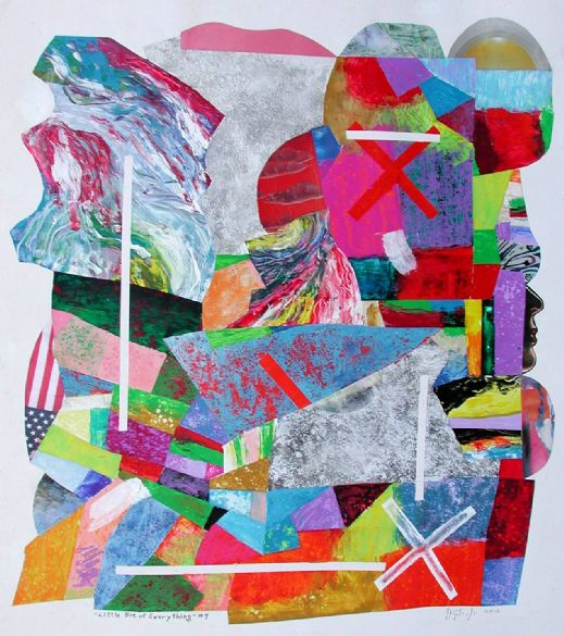 Joseph Kagle, Acrylic/Collage, The Woodlands, TX
