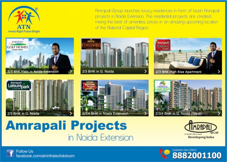 Invest In The Best With Amrapali Projects In Noida