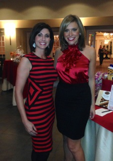 """Ashley Russo & Eve Tannery, AHA """"Purse""""onality Event"""