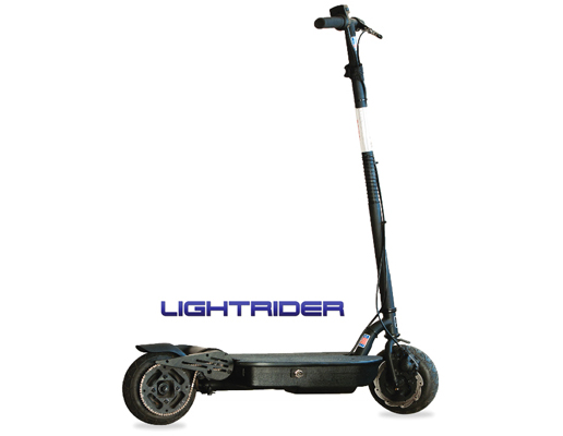 Go-Ped LightRider Stealth Electric Scooter