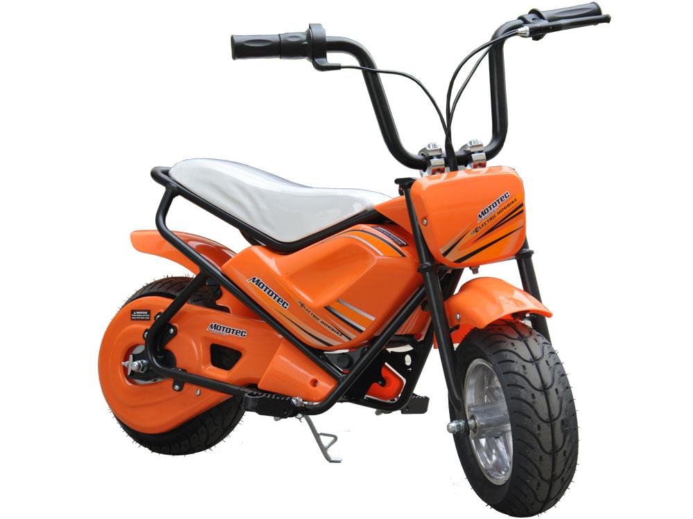 bike electric mini mototec 24v orange ride powered scooters battery toy watt bikes monkey volt dirt motorcycle scooter motorcycles moto