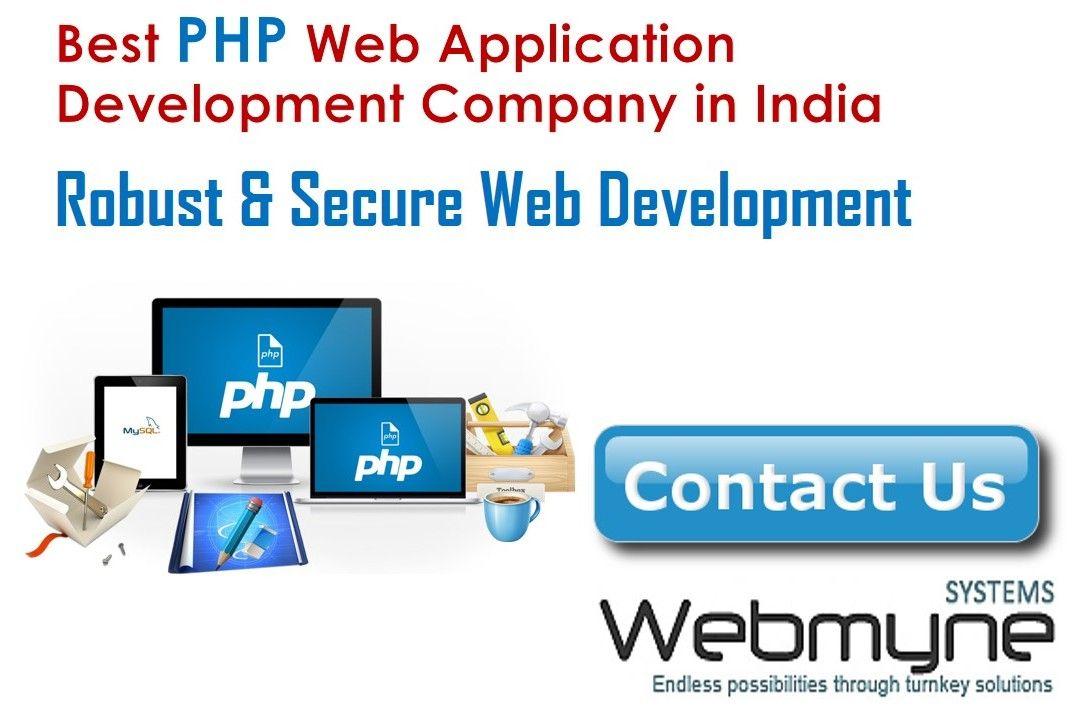 php web app development