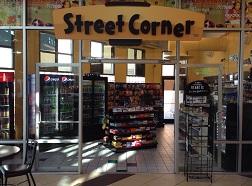 The RockawayTownsquare Street Corner, the convenience chain's 47th store.