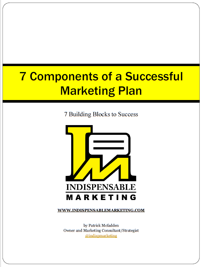 7 Components Marketing Book Cover