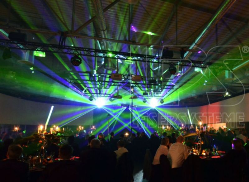 Giant Laser Show Productions For Successful Russian