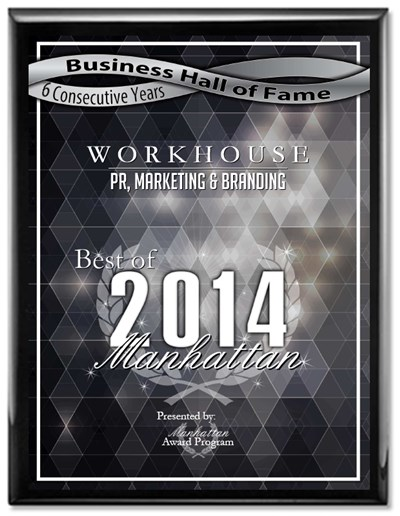 WORKHOUSE Hall of Fame PR Agency