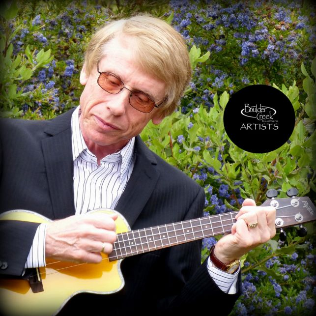 Keith Lightfoot with Riptide ECUT-2V Ukulele