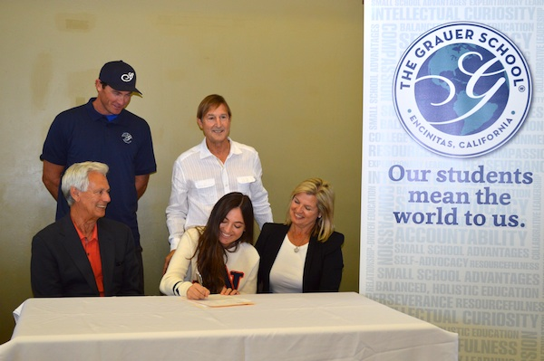 Champion Equestrian Grauer Student Signs Letter Of Intent