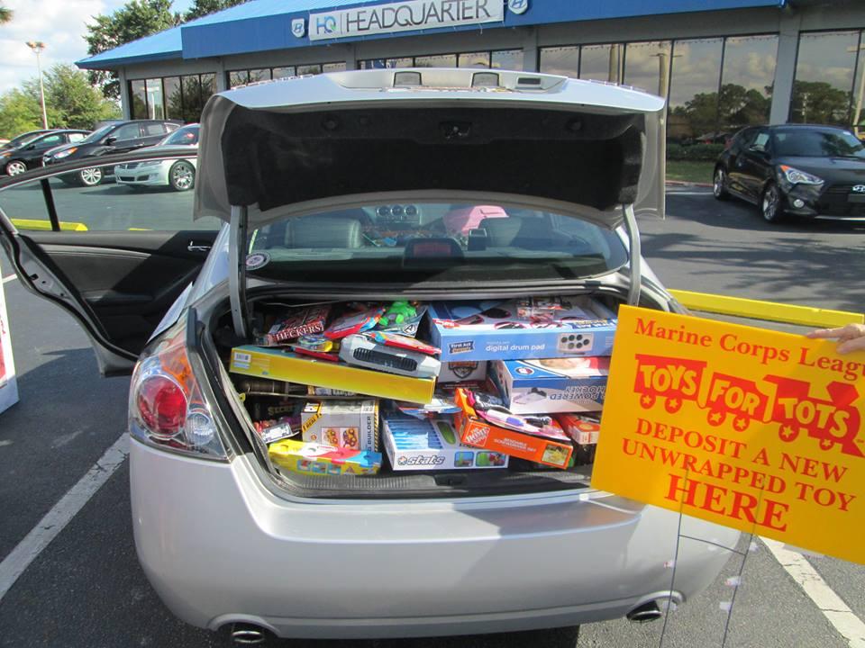 Toys For Tots Drive At Headquarter Hyundai