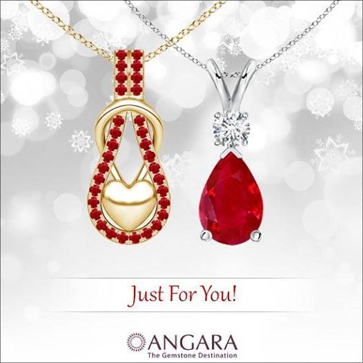 Blood Ruby Pendant Necklaces