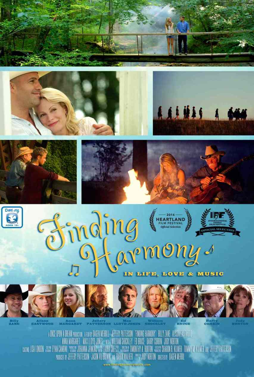 Finding Harmony awarded Dove Seal of Approval for family viewing.