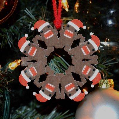 Limited Edition 3D Printed Santa Domo Ornament