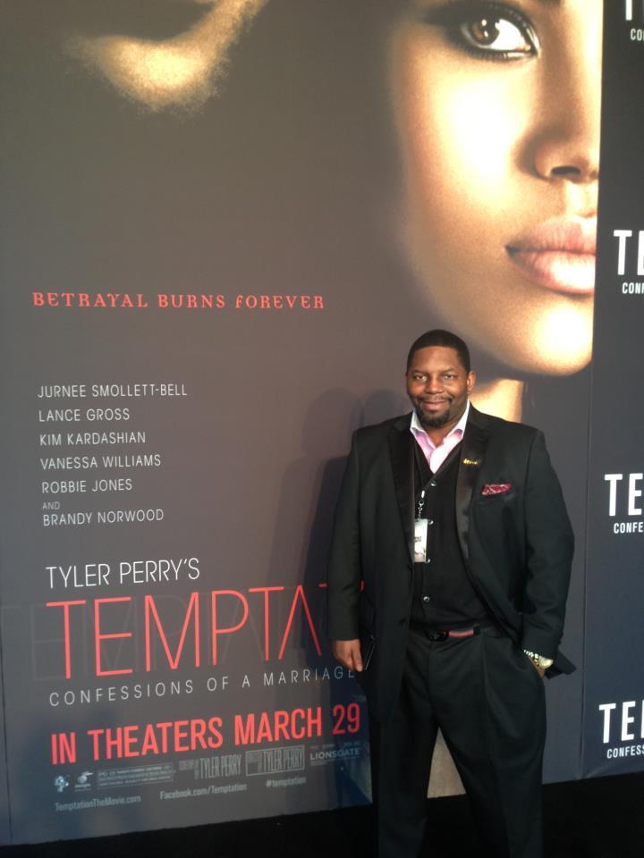Scotty Scott @ Tyler Perry Temptation Red Carpet
