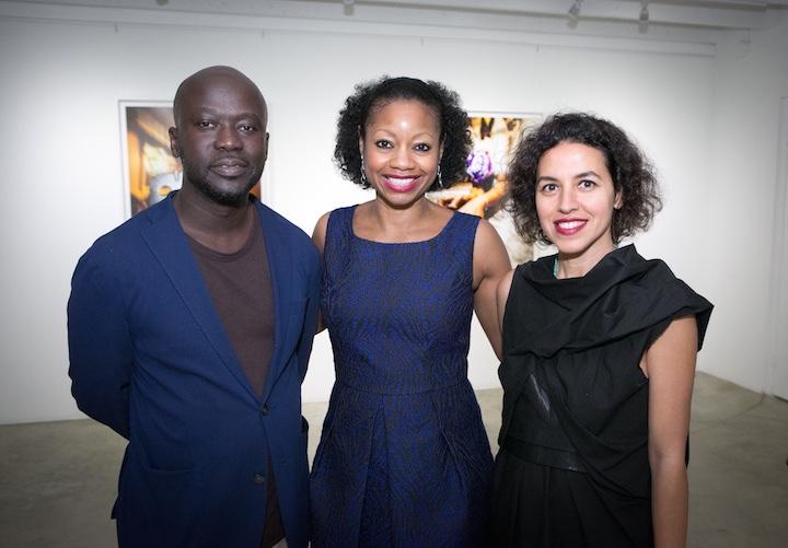 David Adjaye, Donnamarie Baptiste and Shahira Fahmy: Clifton Henri