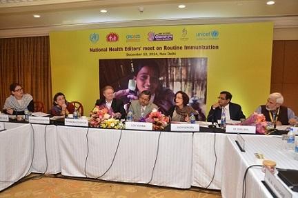 National Health Editors' Meet on RI