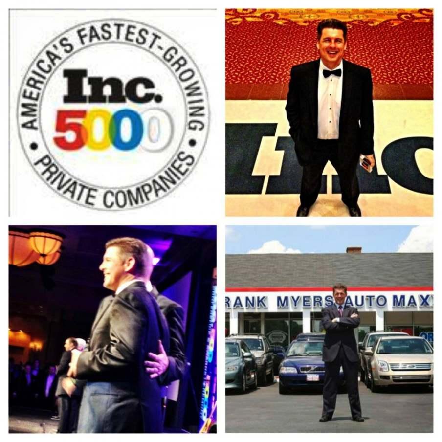 Frank Myers Auto Maxx named to Inc list