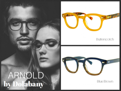 Dolabany Arnold New Colors Blue Brown and Buttersc