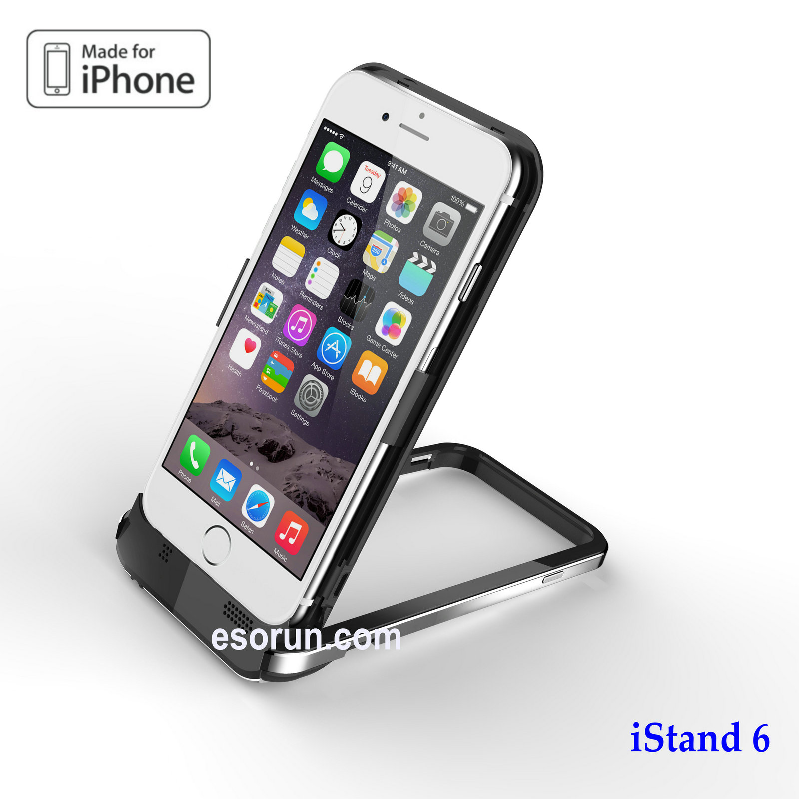 iStand 6-iPhone 6 battery case
