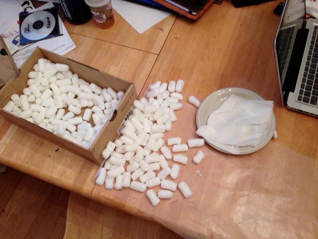 Biodegradable Cornstarch Packing Peanuts