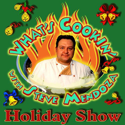 """""""The What's Cookin'? Holiday Show"""" is just one of 15 """"Joe Bev"""" radio shows."""