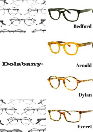 Dolabany Eyewear Arnold, Dylan, Everet, Bedford